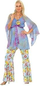 60s Hippie Costume for Ladies