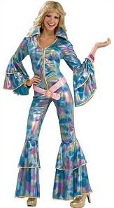 70s fancy dress - ladies disco jumpsuit