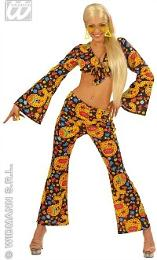 70s Funky Hippy Lady - Psychedelic Costume