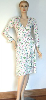 Original 70s Wrap Dress