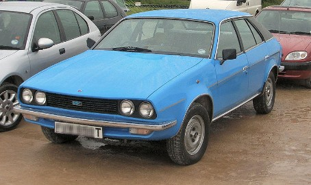 British Leyland - Blue Austin Princess Car