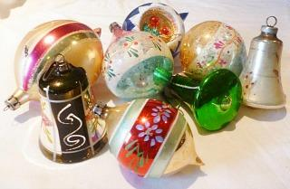 1980s Christmas Baubles