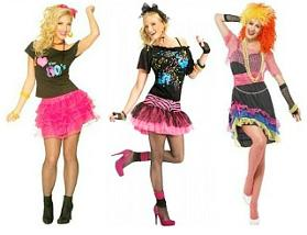 80s Fancy Dress Costumes for Ladies