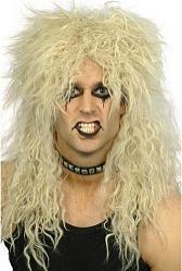 80s Crimped Hair Metal - Rock Band Wig - Unisex
