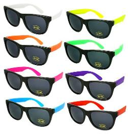 80s and Neon Sunglasses - Shades U.S.