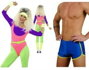 fancy dress for the 80s at simplyeightiescom
