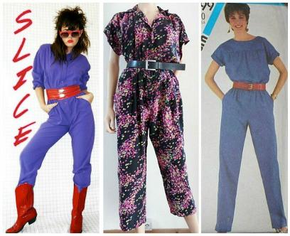 80s Jumpsuits and Romper Suit