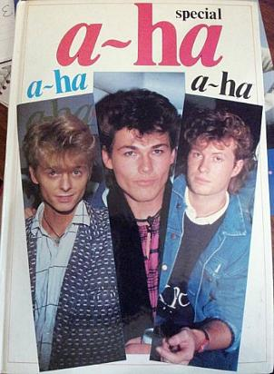 A-ha Special Pop Annual from 1986