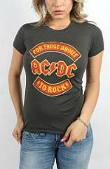 AC DC Women's Rock T-SHirt