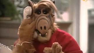 ALF on the phone