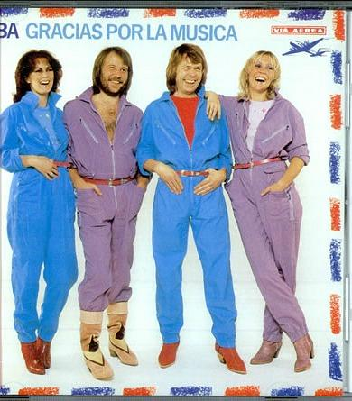 ABBA in jumpsuits 1980