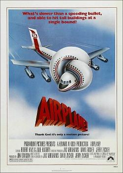 Airplane! 1980 movie poster