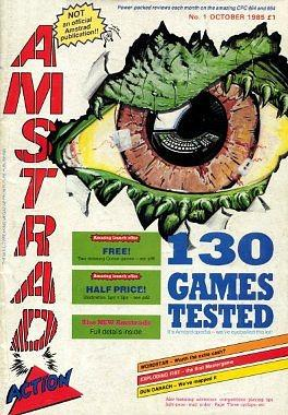 Amstrad Action Magazine Issue 1