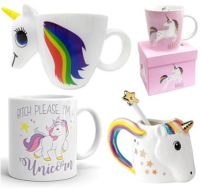 JUN 11 - UNICORN AND RAINBOW MUGS - all the best designs in one place.