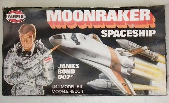 Airfix Moonraker Spaceship James Bond Roger Moore