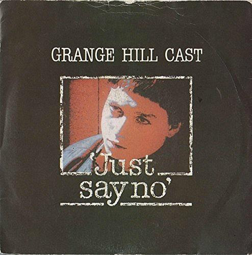 APR 20 - GRANGE HILL CAST - JUST SAY NO - the anti-drugs single from 1986.