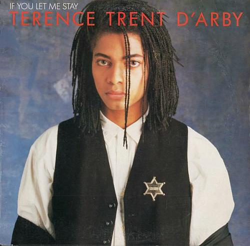 If You Let Me Stay 12 inch vinyl sleeve (US) 1987 - Terence Trent D'Arby