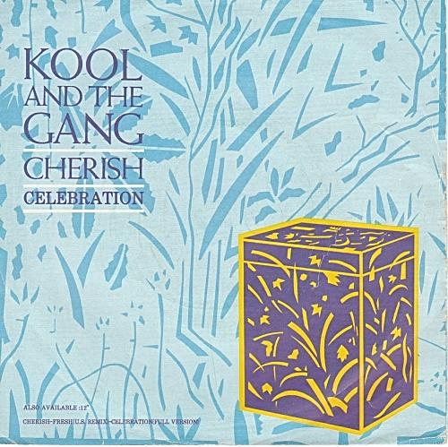 JUL 4 - KOOL AND THE GANG - CHERISH - the band's top 5 hit ballad from 1985.