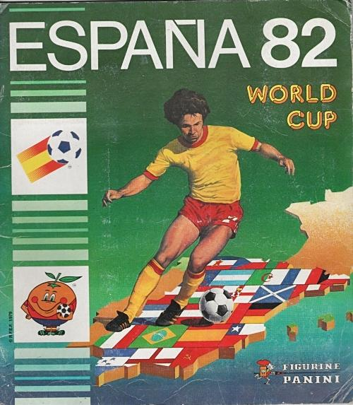 JUN 19 2018 - ESPANA 82 PANINI WORLD CUP STICKER ALBUM - remember collecting these football stickers?