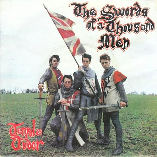 MAY 28 - TENPOLE TUDOR - THE SWORDS OF A THOUSAND MEN - the 1981 hit single.