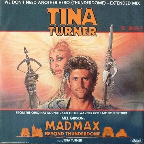 JUL 28 - TINA TURNER - We Don't Need Another Hero. Video and song facts.