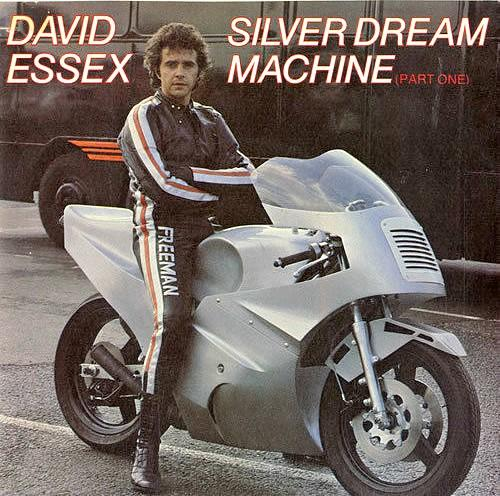 APR 29 - DAVID ESSEX - SILVER DREAM MACHINE - the No.4 hit from the film Silver Dream Racer
