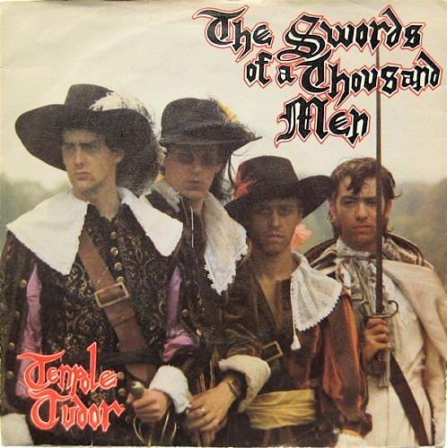 The Swords of a Thousand Men vinyl single by Tenpole Tudor (1981) Stiff Records