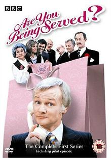 Are You Being Served? BBC comedy with John Inman, Mollie Sudgen, Frank Thornton