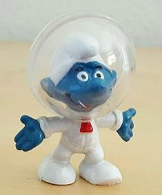 Original Astronaut Space Smurf from 1970s