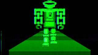 Atari 8 Bit Walking Robot Demo