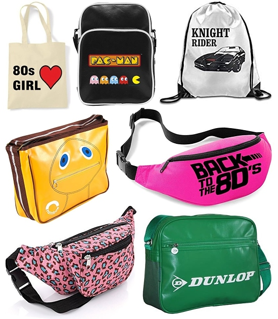 80s BELT BAG BUM BAG FANCY DRESS ACCESSORY 1980s  NEON