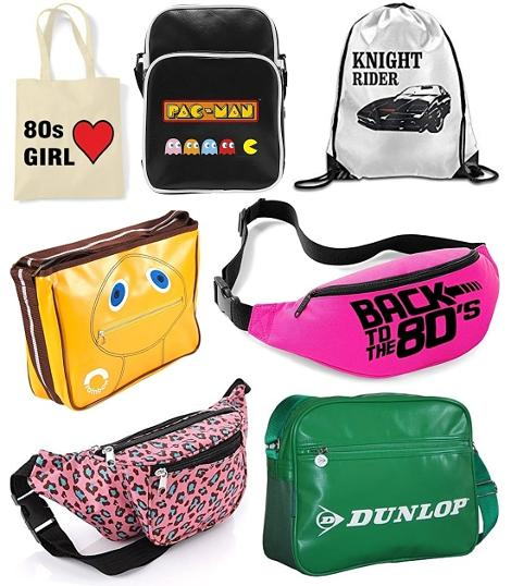 80s Bags Collage