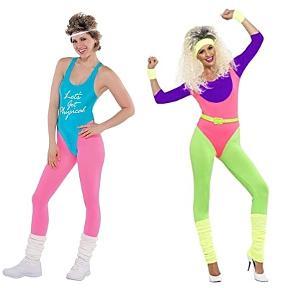 80s workout clothes men