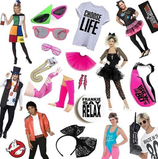 f5d98427 80s Fancy Dress Ideas collage - Simplyeighties.com