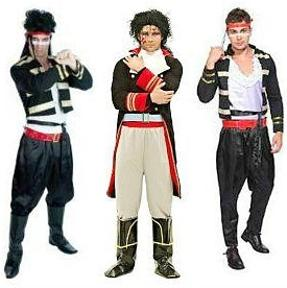 Adam Ant 80s Fancy Dress Costumes for Men