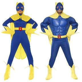 Bananaman and Bananagirl Costumes for Adults