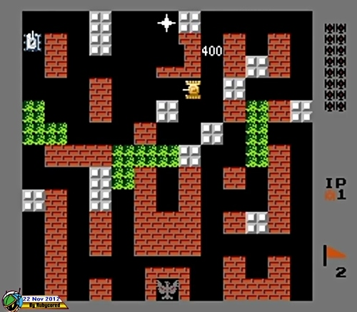 AUG 23 - BATTLE CITY - Free online flash game based on the 80s NES game.