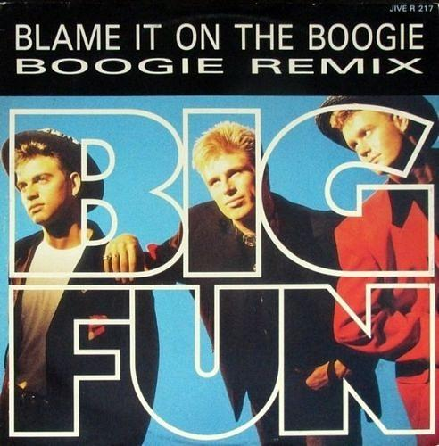 Blame It on the Boogie Boogie Remix 12 inch vinyl (Jive) 1989 - Big Fun