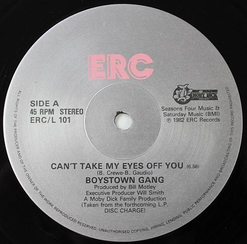 AUG 15 - BOYS TOWN GANG - Can't Take My Eyes Off You - One hit wonder from 1982.