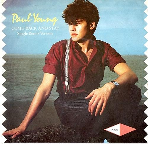 Come Back and Stay by Paul Young alternative sleeve