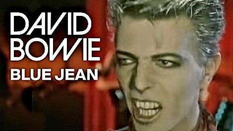Blue Jean David Bowie - video screenshot thumbnail