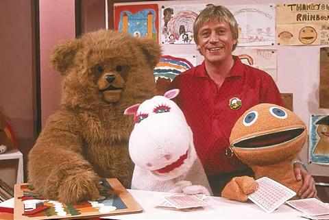 OCT 2 - R.I.P. GEOFFREY HAYES - we take a look back at the cult kids TV show Rainbow.