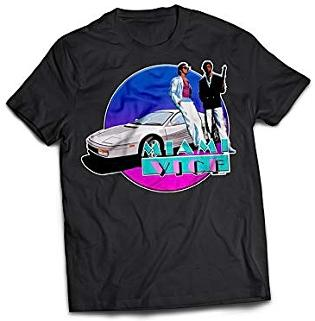 Miami Vice unofficial fan art T-shirt