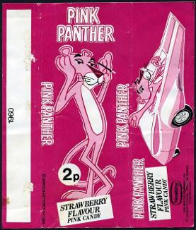 Pink Panther candy bar 1970s