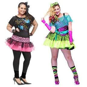 Plus Size 80s Costumes for Ladies