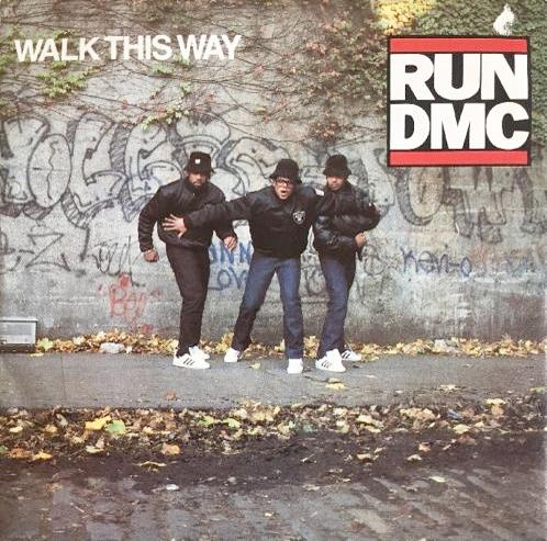 SEPT 21 - RUN DMC ft. Aerosmith - Walk This Way - the iconic hip hop/rock collaboration.