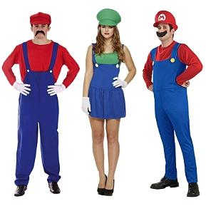 Super Mario and Luigi Costumes for Men and Women