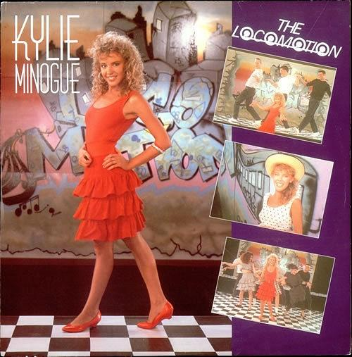 AUG 7 - KYLIE MINOGUE - The Locomotion - Kylie's 1988 cover which reached No.2 in the UK.