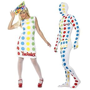 Twister Fancy Dress Costumes for Adults