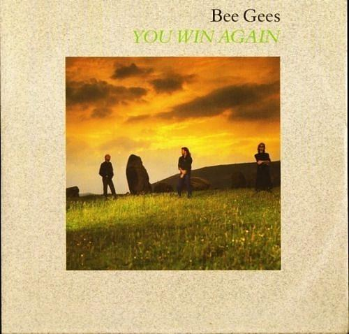OCT 11 - BEE GEES - You Win Again - the trio's only No.1 of the 80s.